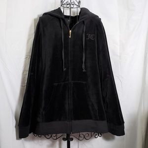 Juicy Couture Velour Cape Hoodie NWT